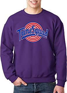 New Way 487 - Crewneck Tune Squad Space Jam Basketball Team Unisex Pullover Sweatshirt