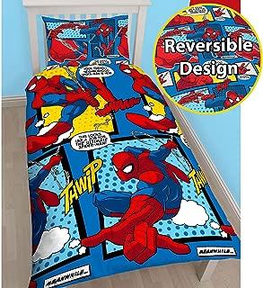 Spiderman Webhead Single/US Twin Rotary Duvet Set + FREE Small Foil Stickers