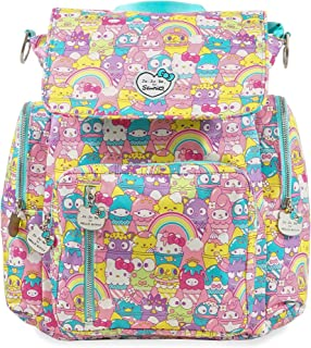 JuJuBe Be Sporty Backpack/Diaper Bag, Sanrio Collection - Hello Sanrio Sweets