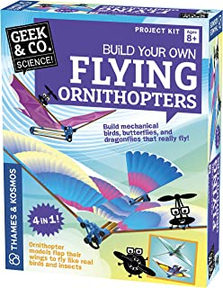 Tedco Toys TIM BIRD 79000 Orthinopter Old Time Mechanical Toy IT REALLY FLIES