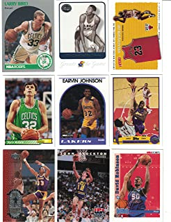 f056f86bc36 Basketball Hall of Fame / 25 Different Basketball Cards Featuring Icons  such as Michael Jordan,