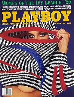 Playboy Magazine, October 1986