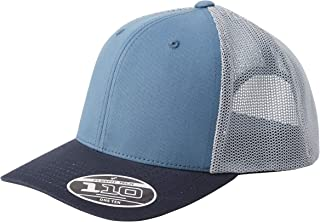 Flexfit 110 Trucker Kappe, Blue Tones, one Size