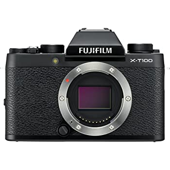 FUJIFILM ミラーレス一眼 カメラ X-T100ブラック X-T100-B
