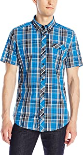 Ecko UNLTD Men's Tribeca Short-Sleeve Woven Shirt