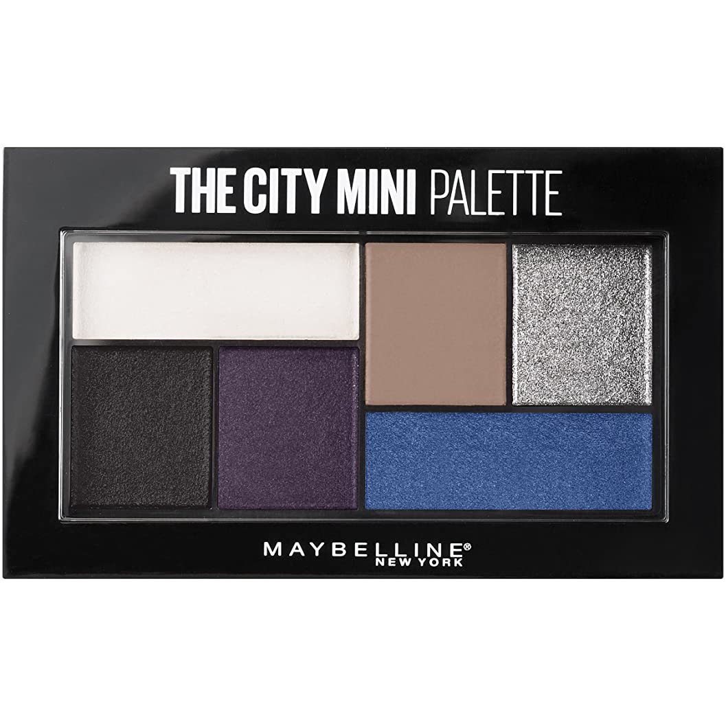 インドバナー乳白色MAYBELLINE The City Mini Palette - Concrete Runway (並行輸入品)
