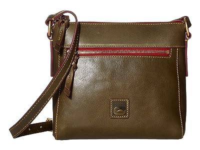 Dooney & Bourke Florentine Classic Allison Crossbody (Fern/Self Trim) Cross Body Handbags