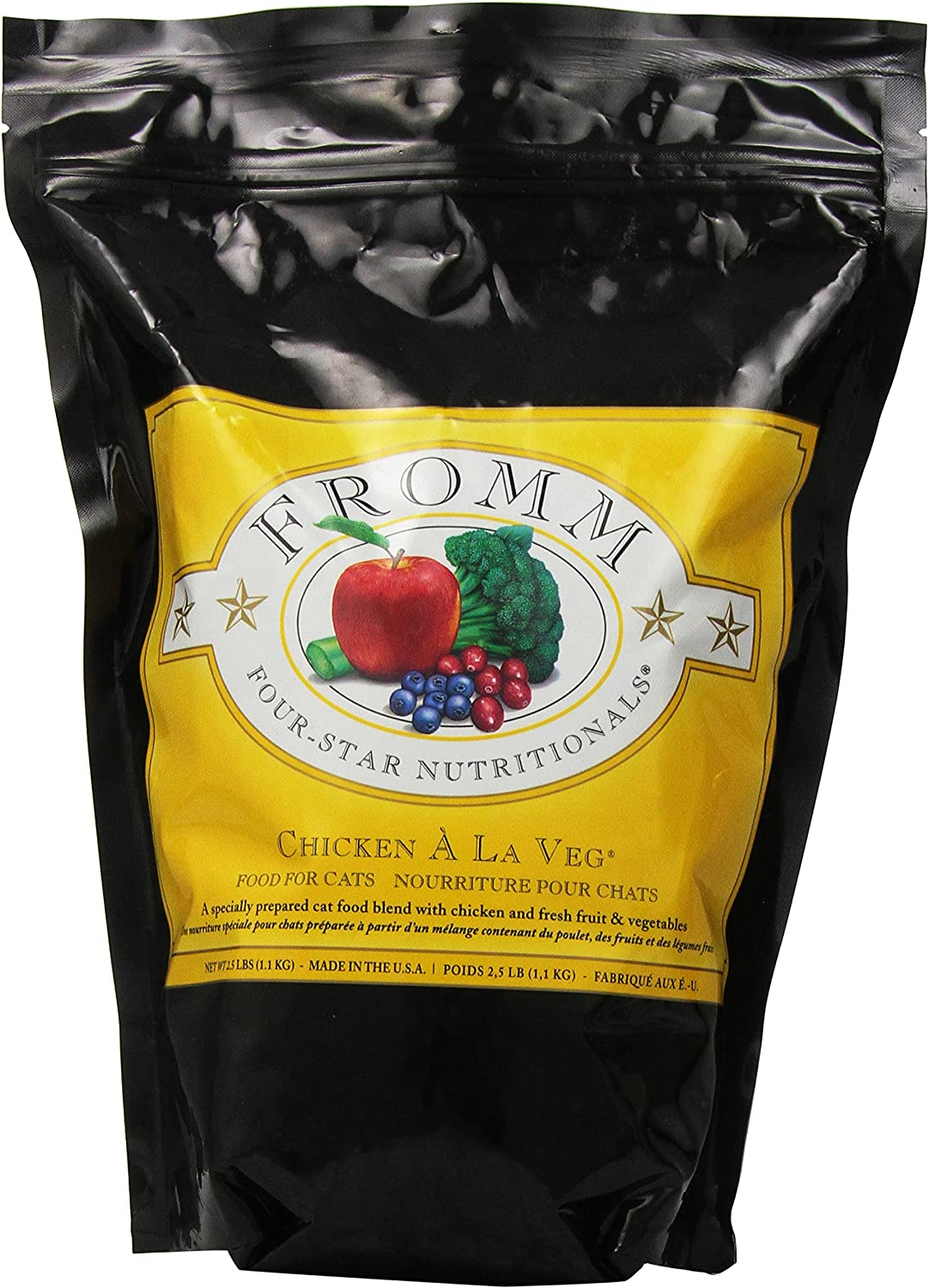 Fromm Four-Star Nutritionals Same day shipping Chicken A La Dry Formula Shipping included Cat Fo Veg