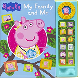 Peppa Pig - My Family and Me 13-Button Sound Book - PI Kids