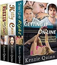Getting it On-line: Three Modern Erotic Bisexual Menage Story Bundle (English Edition)