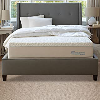 TEMPUR-Cloud Supreme Breeze 1.0 Soft Mattress, Twin XL