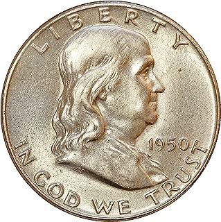 1950 P Franklin Half Dollar Choice BU/MS/UNC