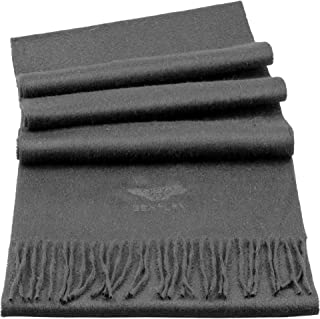 Scarves Embroidered Luxury 100% Pure Cashmere Scarves Made in UK