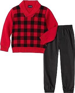 Nautica Boys' 2 Piece Sweater Set with Pants