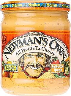 Newmans Own Salsa Con Queso, 16 oz