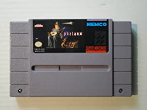 Phalanx: The Hyper Speed Shoot Out In Space - Nintendo Super NES