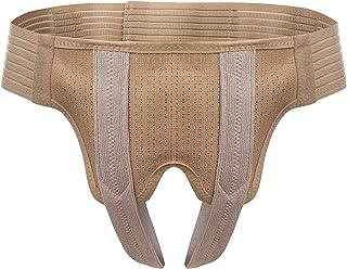 Lauftex Hernia Truss برای مردان ، با دو پد فشرده سازی متحرک (S / Hips 25-32.2 اینچ)