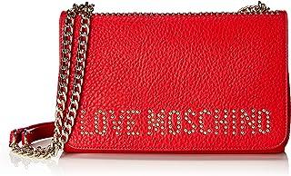 Love Moschino Women's Borsa Grain Pu Satchel