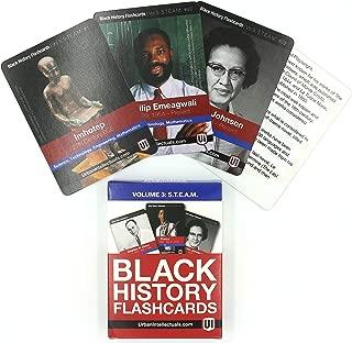 Urban Intellectuals Black History Flashcards (52 Educational Card Deck) Volume 3 - STEAM