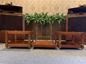 Lansing Audio (5 Shelves) 100% Natural ash Wood Shelves Handcrafted for Holding amplifiers Mcintosh, accuphase, Altec vv.