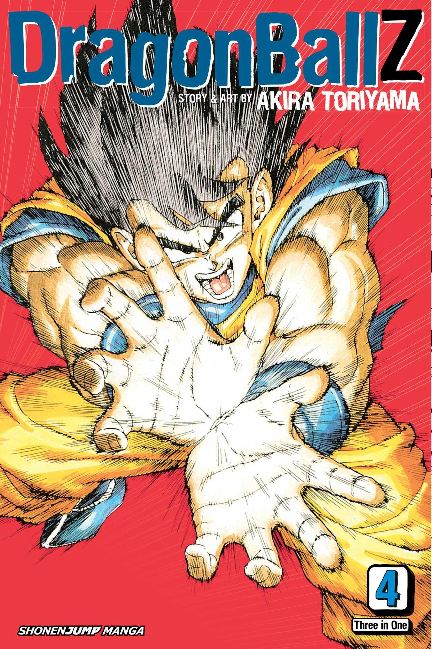 Dragon Ball Z (VIZBIG Edition), Vol. 4: The Many Faced of Freeza (4)