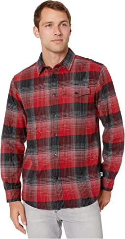 Cardinal Red Stayin Plaid