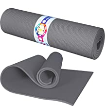 Porchex Yoga Mat - All-Purpose 10MM Thick High Density EVA Eco Friendly Non Slip Exercise & Fitness Mat for All Types of Y...