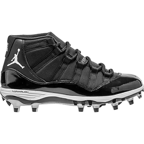 7c7e2ea05192ea Nike Jordan XI Retro TD Mens Football-Shoes AO1561-011 10.5 - Black