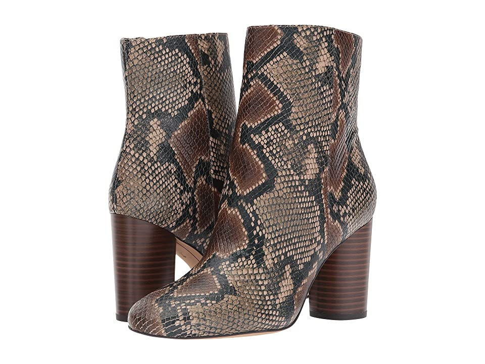 Sam Edelman Corra (Brown Multi Diamond Snake Leather) Women