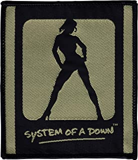 System of a Down Logo with Lady Sew On Patch / Applique
