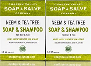 neem & tea tree body & hair shampoo