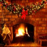 3D Real Christmas Fireplace - Add Your Own Logs!
