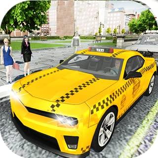 Amazing Taxi City Cab Driver Pickup Driving Sim