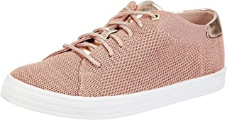 ELLE Women's Pink Sneakers-5 UK/India (38 EU) (F666A-6)