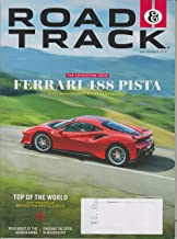 Road & Track September 2018 - The Adventure Issue Ferrari 488 Pista