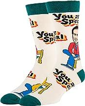 OoohYeah Men's Mister Rogers' Neighborhood Novelty Funny Socks