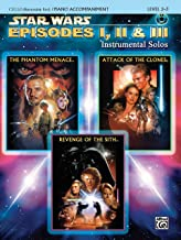 Star Wars Episodes I, II & III Instrumental Solos for Strings: Cello, Book & CD