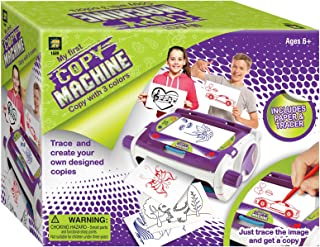 AMAV Toys Super Copy Machine Arts & Crafts Kit. Sketch & Print Out Your Own Drawings Idea for Boys & Girls Ages 6+