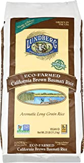 Lundberg Family Farms Basmati Rice, California Brown, 400 Ounce (Pack of 1)