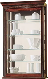 Best mantel curio cabinet Reviews