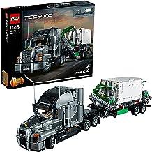 LEGO Technic - Mack Anthem, Juguete de Construcción 2 en 1 de Camión con Remolque (42078)