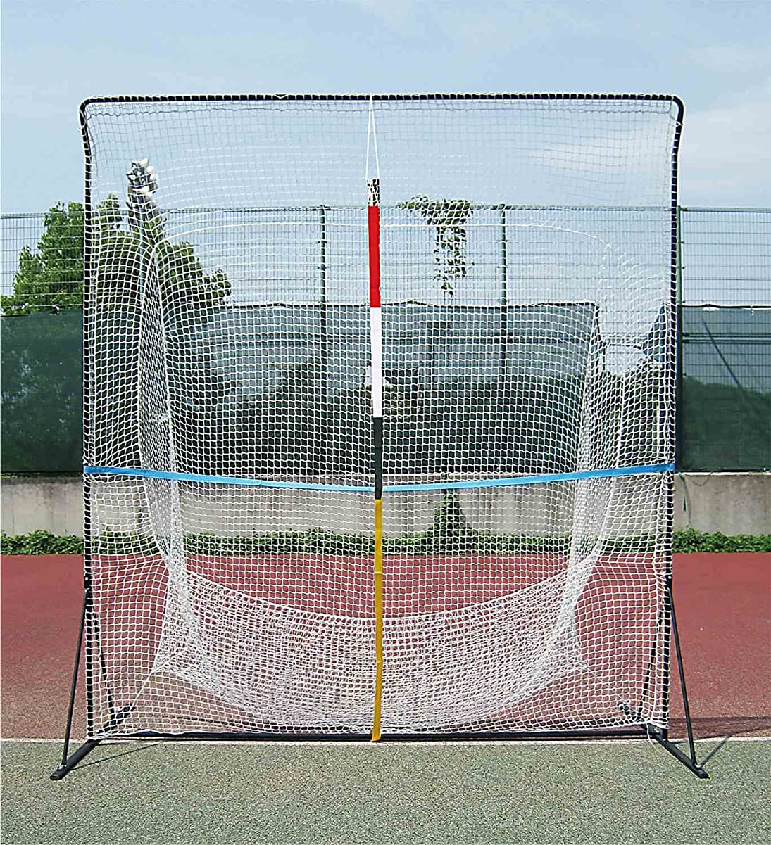 センター渦イライラするUNIX(ユニックス) テニス用 ネット アッパーウィングネット TX2001