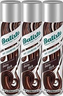 Batiste Dry Shampoo, Divine Dark, 3 Count