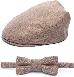 Baby Boy Jeff Hat Vintage Driver Tweed Flat Pageboy Kid Gatsby Cap