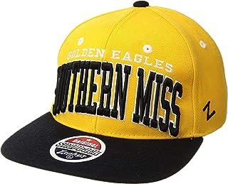 NCAA Southern Mississippi Golden Eagles Super Star Snapback Cap, Gold