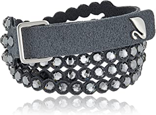 Swarovski Power Collection Bracelet, Dark Gray