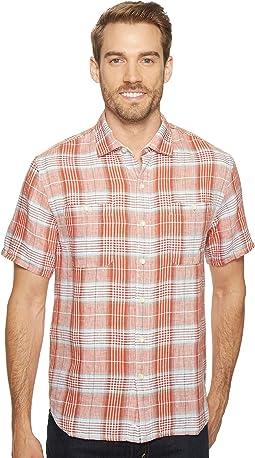 Tommy Bahama - Caldera Plaid Camp Shirt
