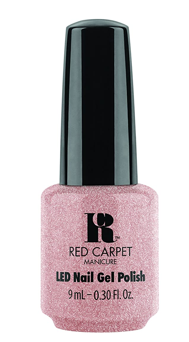 ごみより多いジョージエリオットRed Carpet Manicure - LED Nail Gel Polish - Shimmery Silouette - 0.3oz / 9ml