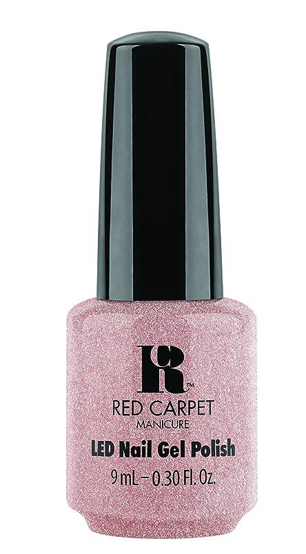 感心するパキスタン人バラエティRed Carpet Manicure - LED Nail Gel Polish - Shimmery Silouette - 0.3oz / 9ml