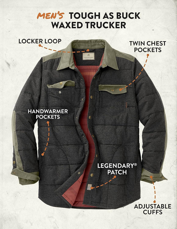Legendary Whitetails Men's High Caliber Quilted Shirt Jacket